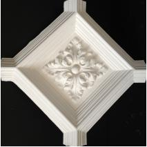 centre boss for geometric cieling design