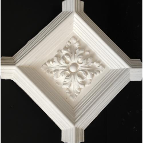 Central section for geometric ceiling