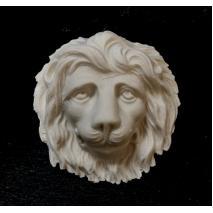 """""""Cecil"""" lion head detail"""