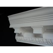 large modillion block cornice with egg and dart