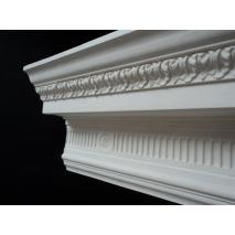 Fluted cornice & patera 110mm x 175mm