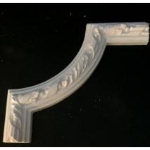 Turning  leaf panel moulding corner