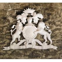 Heraldic Lion Crest